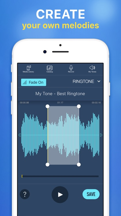 Ringtones for iPhone & Maker screenshot-3