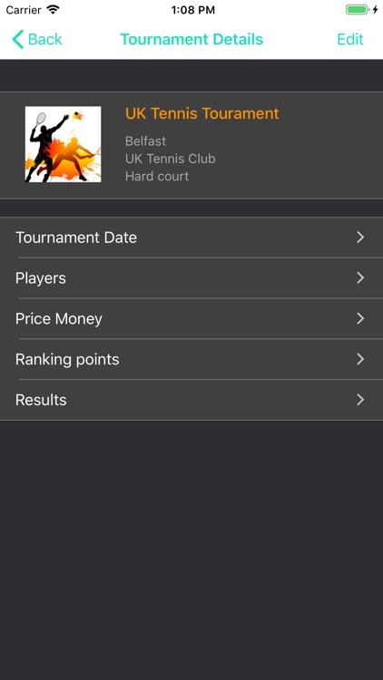 Tennis Player screenshot-4