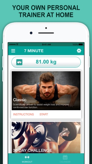 No Equipment Exercise - Home Workouts on the App Store