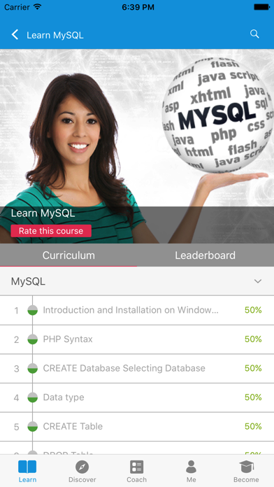 Learn MySQL, SQL and DBMS screenshot three