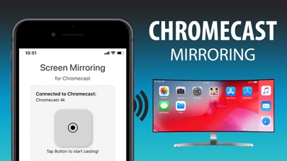 Screen Mirror+ for Chromecast
