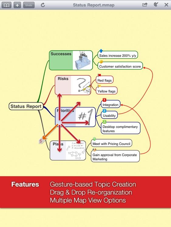 Mindjet Maps for iPad screenshot-3