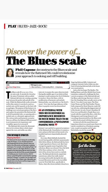 Guitar Techniques: the technical guitar magazine