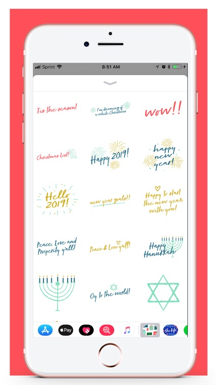 Her Holiday Stickers screenshot-4