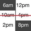 时区对照日历