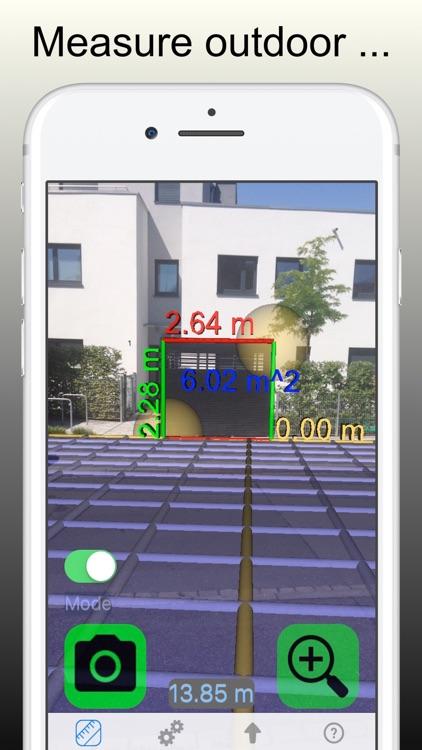 Ruler Pro: Tape Measure Camera screenshot-0