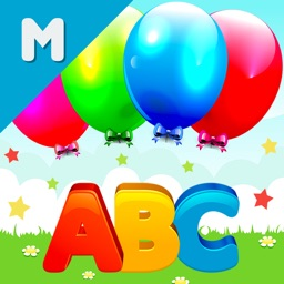 Balloon Pop First Reading ABC