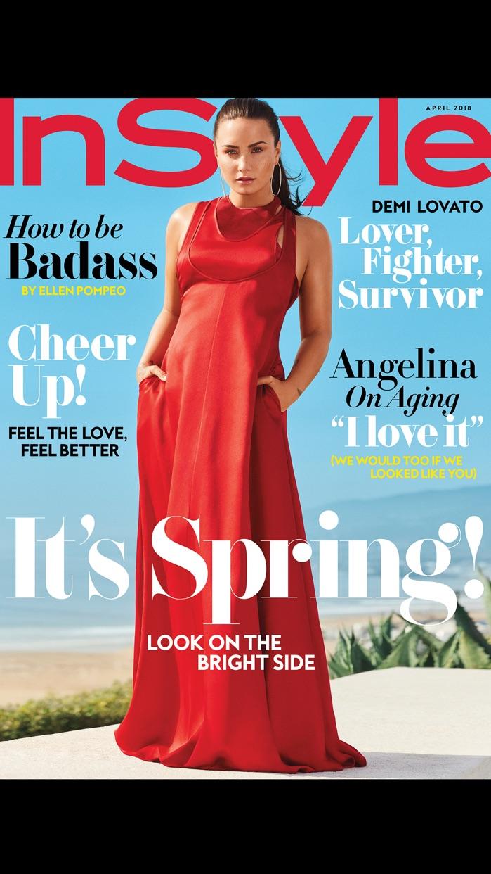 INSTYLE Magazine Screenshot