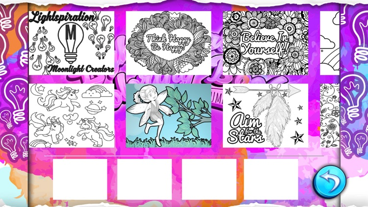 Lightspirations Coloring Book screenshot-1