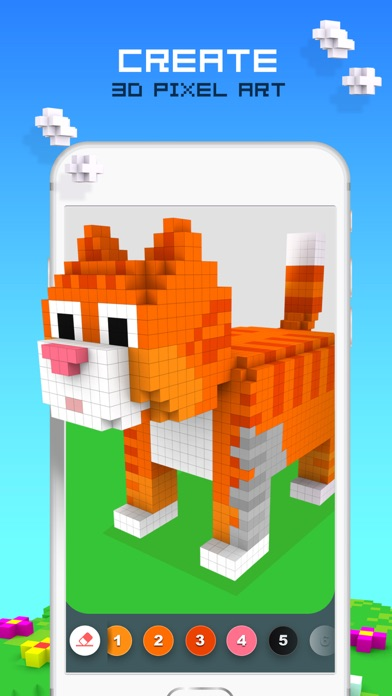 download ColorZ - 3D Pixel Art apps 1