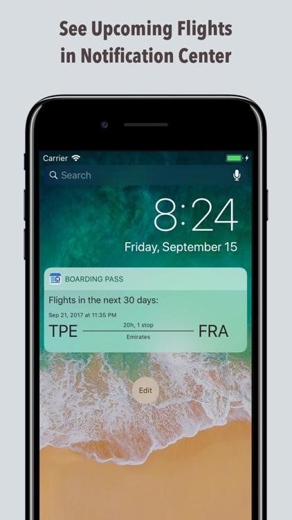 Boarding Pass Flight Check In screenshot-4