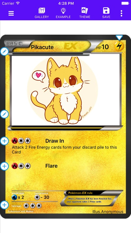 Card Maker Creator for Pokemon