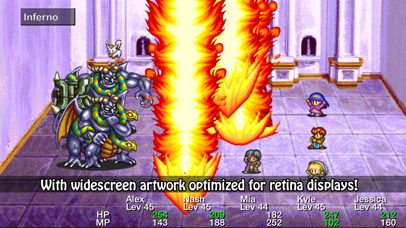 Screenshot from Lunar Silver Star Story Touch