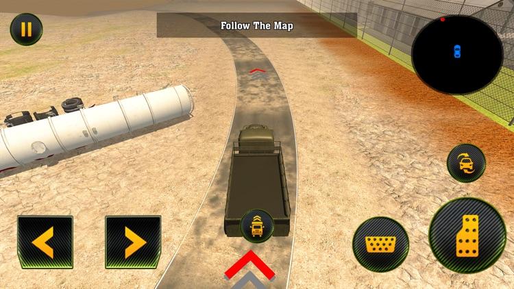Army Cargo Truck: Battle Game