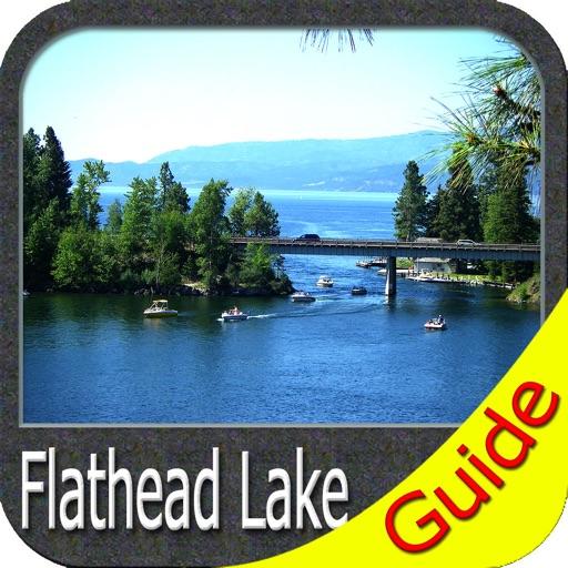 Flathead lake Montana charts GPS fishing Navigator