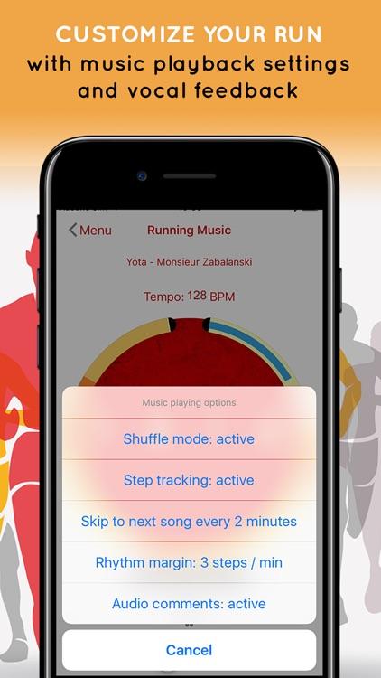 Running Music Match screenshot-3