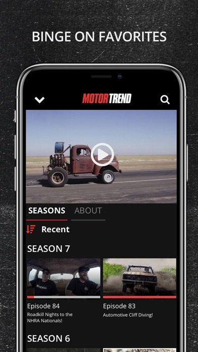 MotorTrend Screenshot