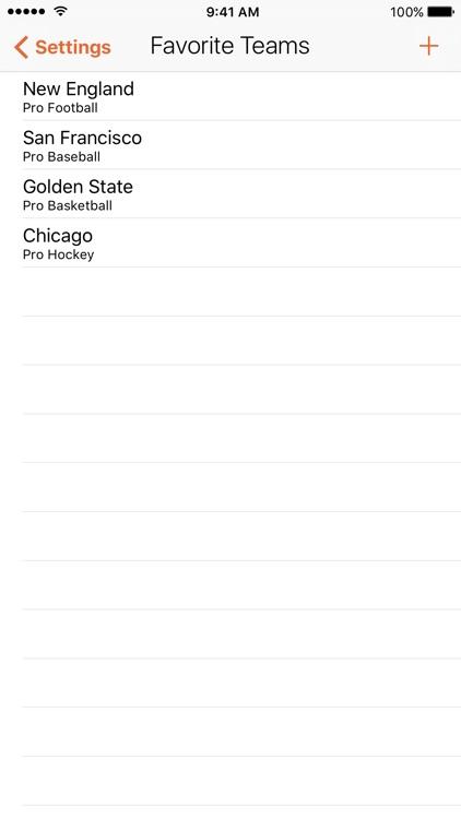 Scores | Fast Sport Scoreboard screenshot-4