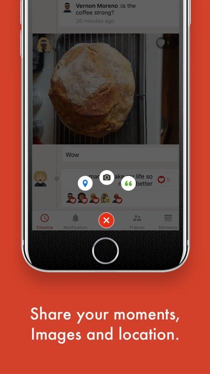 Moments Social screenshot-3