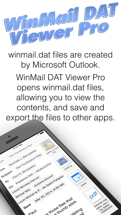WinMail DAT Viewer Pro screenshot-0