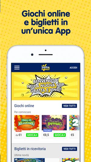 Gratta E Vinci App Ufficiale Su App Store