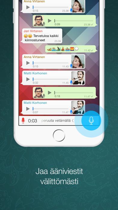 Screenshot for WhatsApp Messenger in Finland App Store