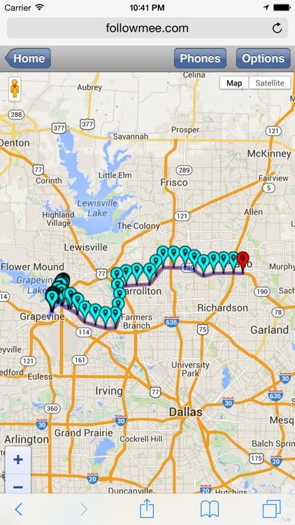 FollowMee GPS Tracker Standard