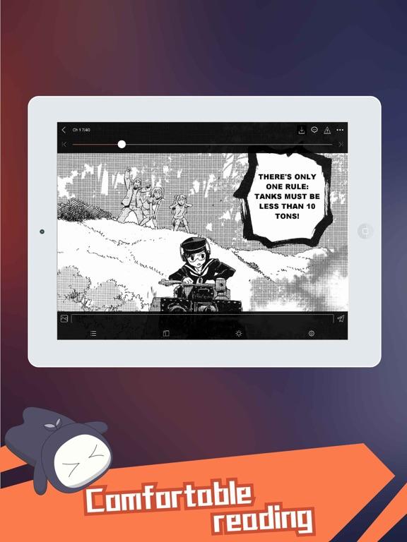 Manga Dogs - Webtoon reader-ipad-1