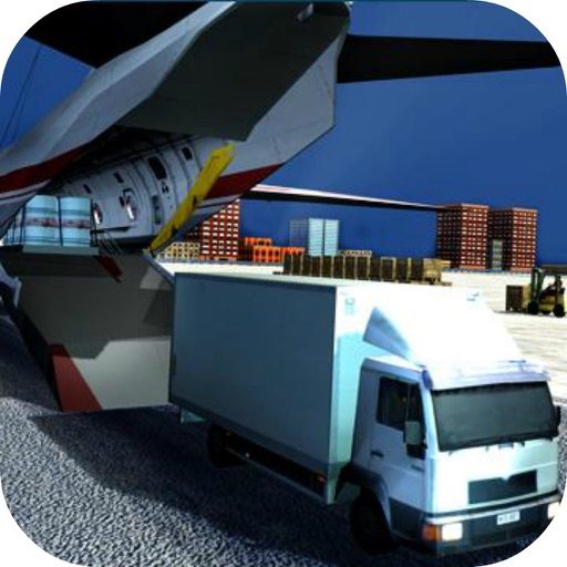 Transport Airport Truck Missio icon