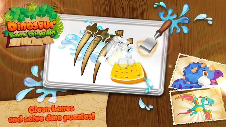 Dinosaur Bone Digging Puzzles screenshot-4