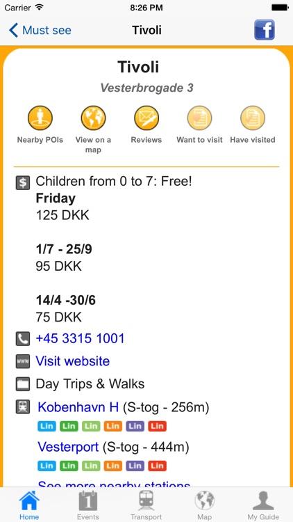 Copenhagen Travel Guide Offline screenshot-4