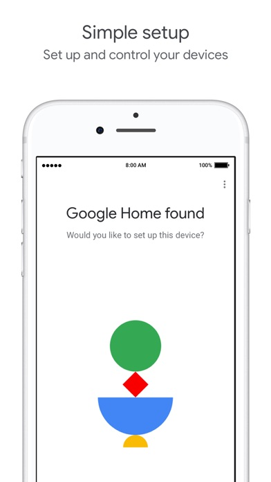 Google Homeのスクリーンショット2