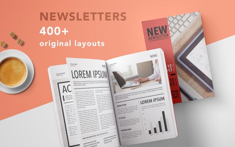 Newsletter Templates - GN Screenshots
