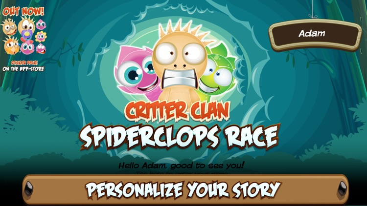 Critter Clan: Spiderclops Race screenshot-0