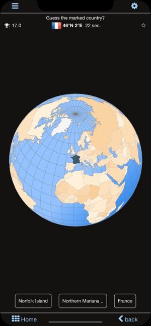 World atlas & map MxGeo Pro on the App Store