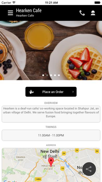 Hearken Cafe screenshot two