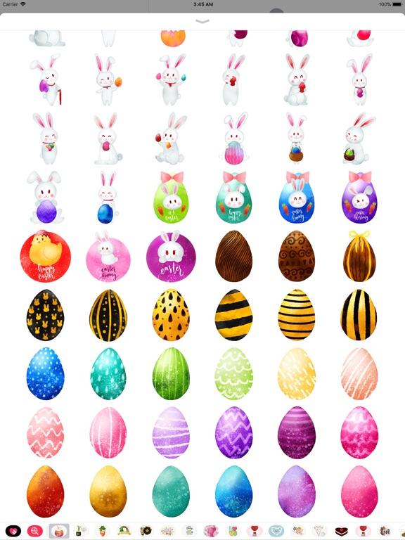 Watercolor Easter Day Stickers screenshot 9