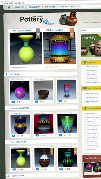 Let's Create! Pottery HD Lite screenshot-4