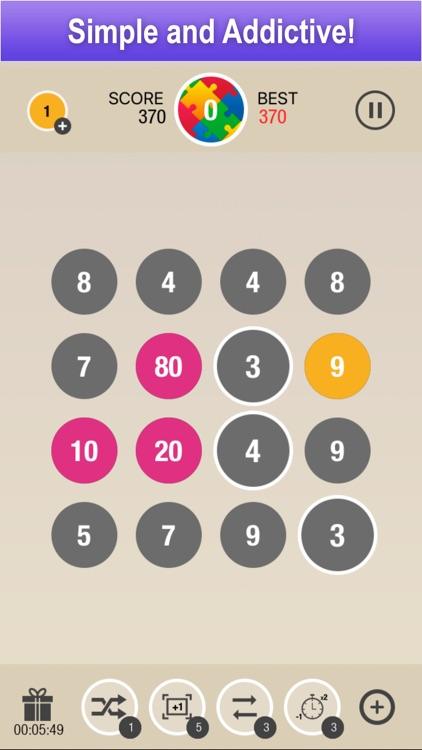 Puzzle 10 - Merge Numbers screenshot-0