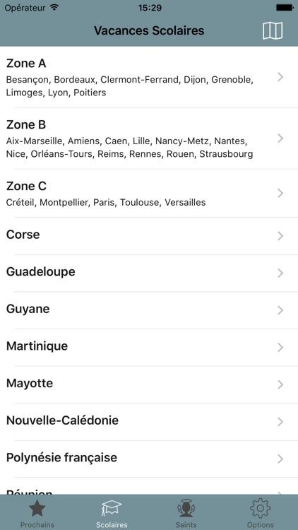 Congés, Fêtes & Vacances screenshot-3