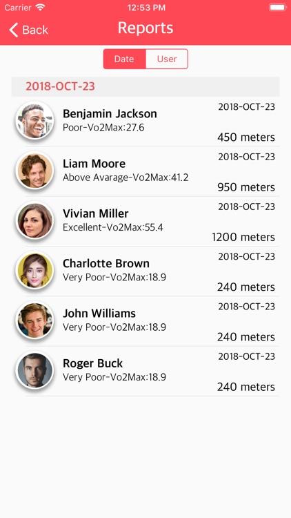 YO YO Endurance Test screenshot-4