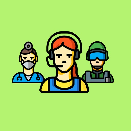 Work Professions Stickers