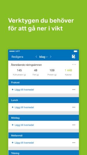 app för kaloriintag