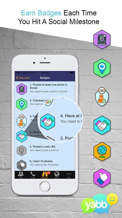 Yabb - Call Text & Video Chat screenshot-3