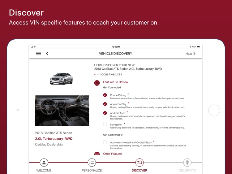 Cadillac Dealer SalesAssistant screenshot-4