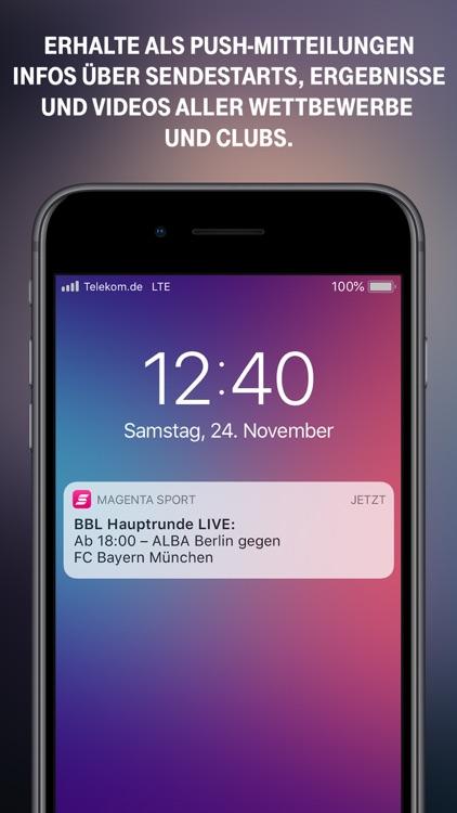 MagentaSport screenshot-3