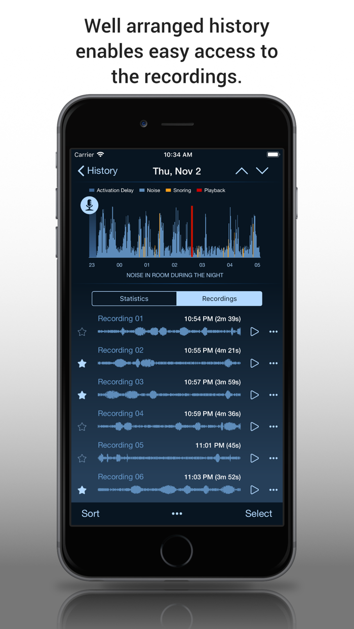 Prime Sleep Recorder Lite Screenshot