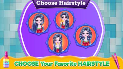 Cosplay Girl Hair Salon Screenshot