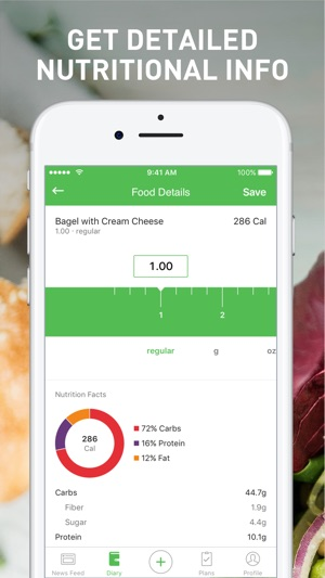 free food diary app for iphone