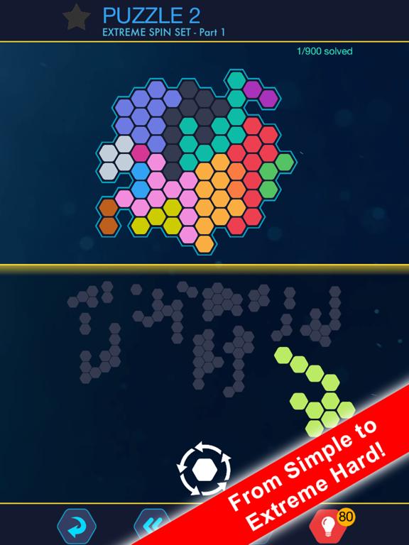 Hexa Block Ultimate! with Spin screenshot 8